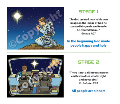 VBS Space Probe Gospel Presentation