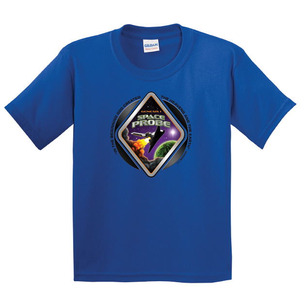 Space Probe T-Shirt - Adult XXXL (54-56)